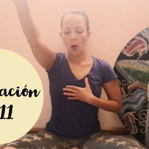 Quema el enojo interno - 11 minutos de Yoga y Meditación. Tips de Aurora - youtube